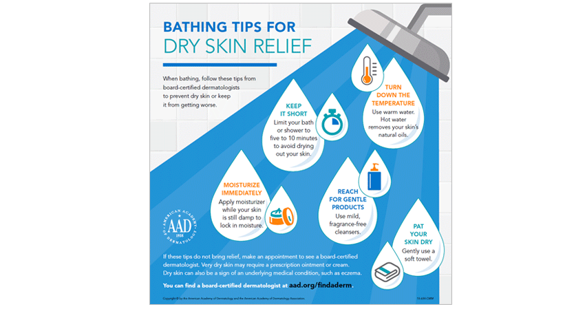 Winter Skin Care Tips form TDC